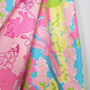 Lilly Pulitzer Bottoms - lilly pulitzer (girl) dragonfly &floral wrap skirt
